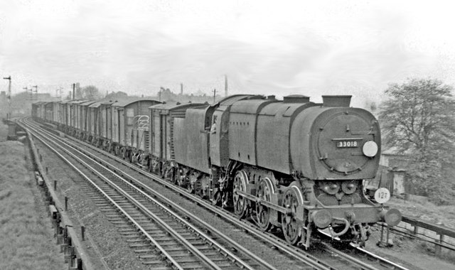 Southern Railway Q1 'austerity' locomotive.